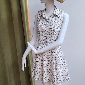 Papaya Floral Print Dress